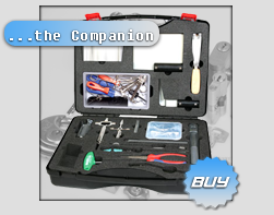 The Ultimate Opening set contains a great and balanced selection of highest quality tools